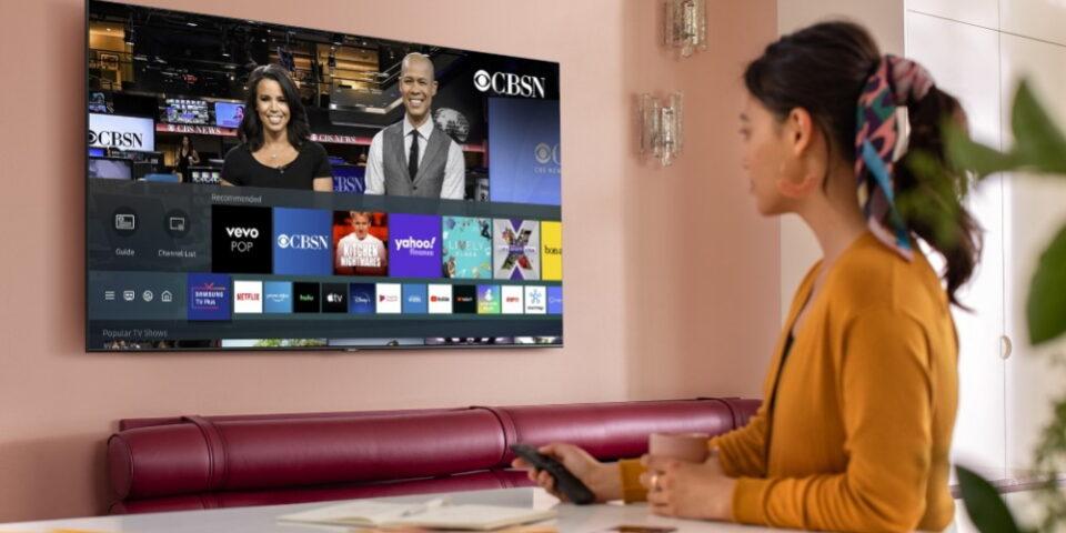как подключить окко на телевизоре самсунг